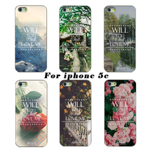For Apple Iphone 5C case Latest Fashion For Apple Iphone 5C Mobile Phone Shell Case For The WILL You Love Me