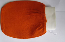 5 pcs orange kessa glove, turkish hammam scrub mitt,exfoliating scrub mitt bath glove skin towel korea glove(China)