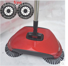 push sweeper magic broom and dustpan
