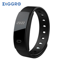 Buy Diggro QS80 Smart Bracelet Blood Pressure Wristband Heart Rate Tacker Bluetooth Smart Band Fitness Bracelet IOS Android for $15.99 in AliExpress store