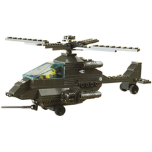 DIY Mini Building Nano blocks,children gifts,Educational toys,funny,model,6200,Apache fighter,ground force series,Sluban Blocks