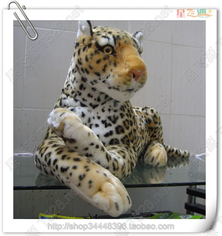 stuffed animal 88cm plush leopard toy doll great gift  free shipping w102<br><br>Aliexpress