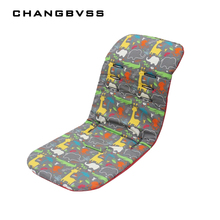 Hot Sale Infant Stroller Cushion,0-36 Months,Stroller accessories Baby Pushchair Padding Liner,Child Trolley Thickness Mattress(China)