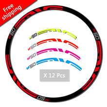 Buy M50 Mountain Bike bicycle wheel rim stickers M50 replacement race decals MTB Race Dirt Decals free for $8.88 in AliExpress store