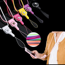 Lanyard Mobile Phone Holder for ID Pass Card Badge Neck Strap Hot Detachable New