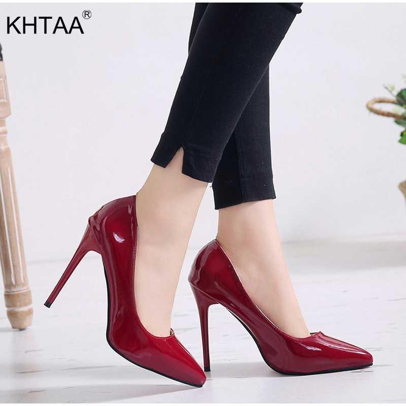 Женские пикантные туфли-лодочки на высоком каблуке-шпильке, большие размеры,  женские туфли e1aa8498484