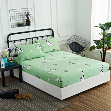 Giraffe bed sheet sets cartoon children green new fitted sheet twin full queen king RU UK single double size bedding Bedspread