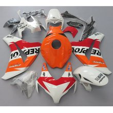 Motorcycle White Repsol Fairing Kit For Honda CBR 1000 RR CBR1000RR 2008 2009 Bodywork Fairings CBR 1000RR 08 09 Injection Mold
