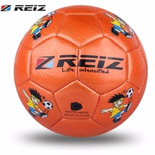 REIZ Children Kids Football Soccer Ball 14CM Circumference 2# Kindergarten Football Training Ball Anti-Slip Training Ball(China)