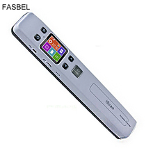 Wireless WIFI Portable Scanner A4 Size Support JGP/PDF High Speed Document Scanner 1050DPI Support TF Card to 32GB(China)