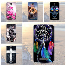 2016 Flower Dog Flower Plants Printed Case for ZTE Blade L5 / L5 Plus Soft Gel Silicone Back Phone Cover for ZTE Blade L5 Plus