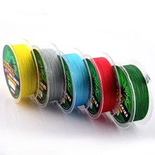 PROBEROS 100M Fishing Lines PE Braid 4 Stands 6LB to 100LB Multifilament Fishing Line Angling Accessories Fishing Rope Cord(China)