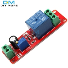 DC 12V Delay Relay Shield Module NE555 Timer Switch Adjustable Module 0 to 10 Second 0~10S Car Oscillator