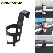 Onever Hot Sell Small and Practical Car Drinks Water Cup Bottle Holder Hanging Stand for Car Truck Auto Interior Door Window(China)