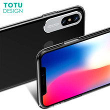 Buy TOTU Luxury Phone Case iPhone X 10 Capinhas Ultra Thin Slim Back Cover Case Apple iPhoneX Transparent PC Coque Fundas for $4.59 in AliExpress store