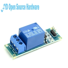 1Pcs DC 5V/12V/24V 1 Channel Relay Module Low Level Optocoupler Isolation 5V Relay Module Development Board Arduino