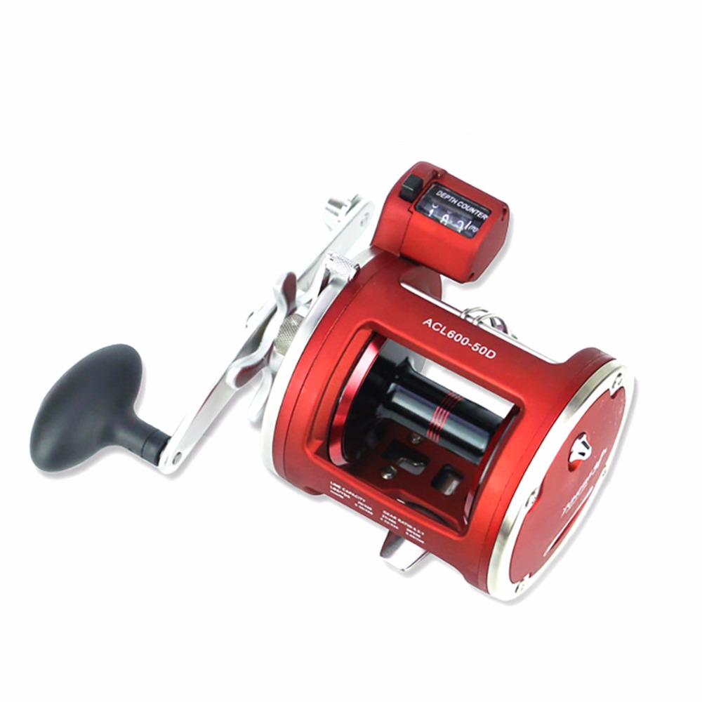 Lumiparty New 12+1BB Right Left Handed Fishing Baitcasting Reel Super Light Fake Bait Round Fishing Reel peaca wheel Handle<br>