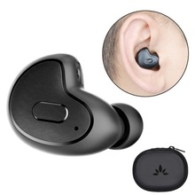 Avantree Mini Bluetooth Earbud V4.1 with MIC Snugly Fit Wireless Smallest Invisible In-Ear for Podcast Audiobook GPS Music-Apico