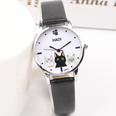 Japanese small fresh girl child wild watch female Korean version of the simple Harajuku cute middle school students soft gi 2