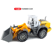 Big Size Children's Large Man Can lift Bulldozer truck Forklift roller truck excavator Beach transport vehicle Toy Car Wholesale
