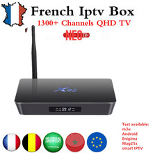 Buy French IPTV box X92 android tv box 7.1 s912 1200+NEO IPTV Europe French Arabic africa Tunisia Morocco PayTV Smart IP TV Box for $92.96 in AliExpress store