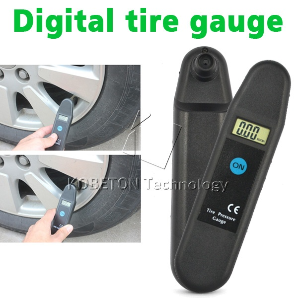 New Digital LCD Display Auto Wheel Tyre Air Pressure Gauge Meter for Vehicle Motorcycle Car Diagnostic Tool(China)