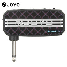 Joyo Ja-03 Acoustic Sound Portable Mini Guitar Amplifier Plug Amp Electric Guitar Parts Accessories with 3.5mm Earphone Output