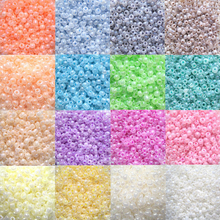 2016 2MM 800PCS Round Loose Spacer Glass Seed Beads for DIY Bracelet Necklace Clothes Bags Decoration jewelry craft making(China)