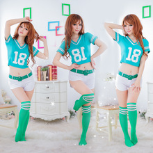 Wholesale Sexy Lingerie Football Baby Cheerleading Clothing DS Nightclub Costumes Wholesale Europe