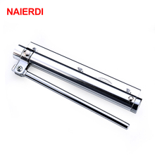 NAIERDI Adjustable Bear 50KG Aluminum Door Closer Light Fire Rated Door Household With Automatic Door Spring Furniture Hardware