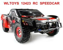 1 / 12 Big Climbing RC Car 2.4G 4WD WLtoys No. 12423 Remote Control RC Car 2.4GHz High Speed Driving Car Model Toy