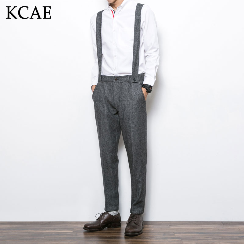 2016 plus size M-XXL wool jumpsuits and rompers for men korean nice jean fashion work clothes pants casual work pants trousersОдежда и ак�е��уары<br><br><br>Aliexpress