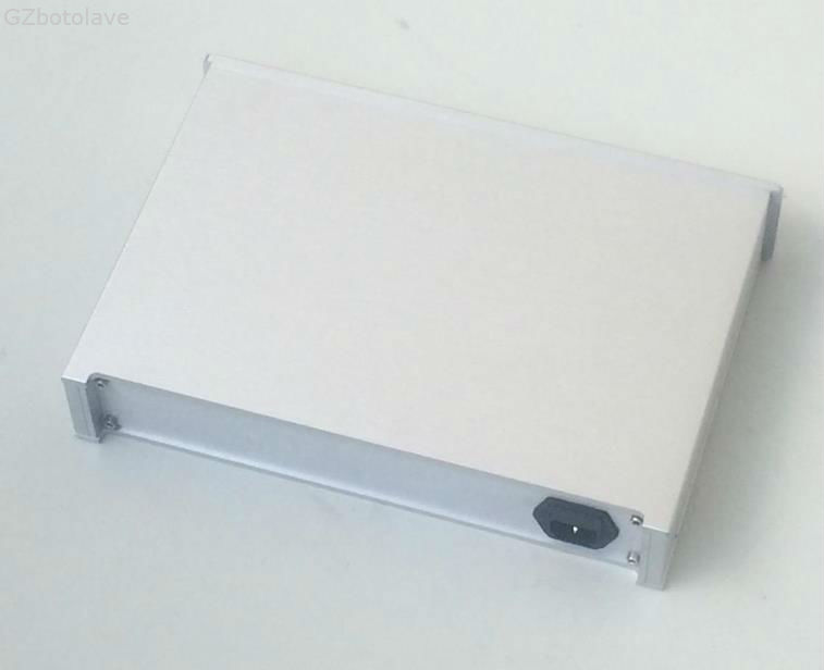 3306B Aluminum Chassis Amplifier Enclosure Preamp Case Headphone Cabinet DAC box