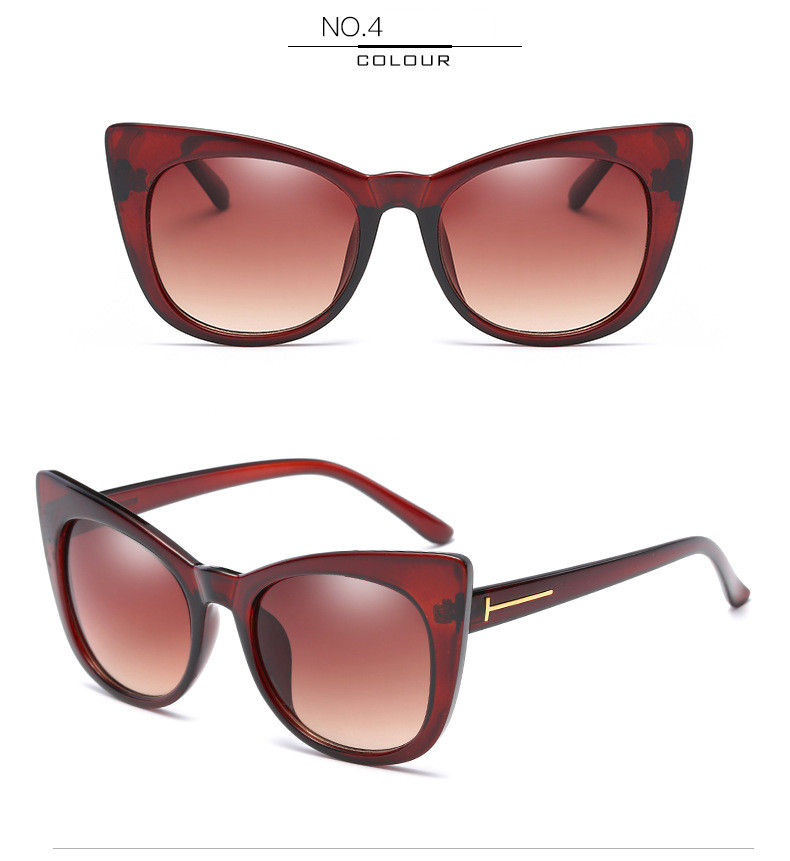 Luxury Vintage Cat Eye Sunglasses Women Brand Designer Retro Female Sunglass Points Sun Glasses For Women Ladies Sunglass Mirror (10)