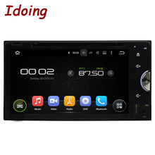 Idoing Quad Core 2Din Android5.1 Multimidia Com GPS Autoradio DVD GPS Wifi Car Stereo Bluetooth CableTV DVD Universal For Toyota