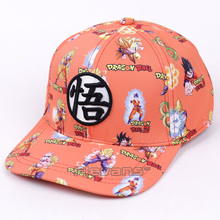 Anime Dragon Ball Z Son Goku Baseball Cap For Men Women Adjustable Hip-Hop Snapback Hat(China)