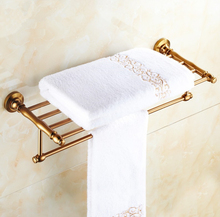 2016 Luxury Antique Design Towel Rack,Modern Bathroom Accessories Towel Bars Shelf ,Fashion Towel Holder /toalheiros(China)
