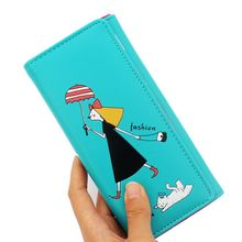 Purse women wallets student wallet  female pattern ladies purse wall Eton behalf of the hair Support Drop shipping