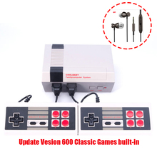 coolbaby 500 Different Games Retro Childhood Mini TV Handheld Video Game Console For Nes Games PAL+NTSC dual gamepad+gift