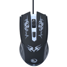 New Promotion 1600DPI LED Optical 1M USB Wired Gaming Game Mouse Pro Gamer Computer Mice For PC High Quality Free shipping(China)