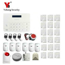 YobangSecurity Wireless Home Office Security Alarm System GSM Dialer PIR Motion Detector Door Window Sensor Mobile APP Control