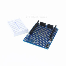 UNO Proto Shield Prototype Expansion Board SYB-170 Mini Breadboard Based ARDUINO ProtoShield - ShenZhen MTS Electronic Co ,.Limited store