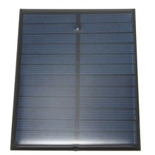 6V 1.1W 200mA Polycrystalline Silicon Epoxy Solar Panels Module Power Mini Solar Cells Portable Outdoor Charger 112x84mm(China)