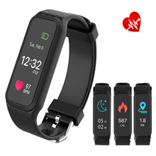 Buy Sports Smart Band L38I Color Screen Support Dynamic Heart Rate Fitness Tracker Sleep Tracker BT4.0 Android iOS for $30.00 in AliExpress store