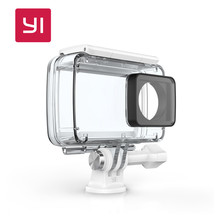 YI Waterproof Camera Case For YI 4K Action Camera 2 Up to 132 feet (40M) Underwater Sports Swimming Diving YI Official
