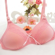 32,34,36 Girls Students Wire Free Bras Young Girl Comfortable Breathable Training Bra Kids Intimates Bras Children Underwear