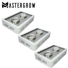 3PCS MasterGrow 600W COB LED Grow Light Panel Full Spectrum 410-730nm With Big Len For Indoor hydroponic Plant Grow and Flower(China)