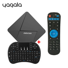 DOLAMEE D5 TV Box Android 5.1 Rockchip RK3229 Quad-core 1GB RAM 8GB ROM 4K H.265 Mini PC Internet with WIFI HDMI 2.0 LAN Player