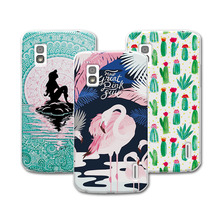 "For LG Nexus 4 coque Mermaid Painting Hard Plastic Case For LG Google Nexus 4 E960 Case Cover For LG E960  4.7"" Case"