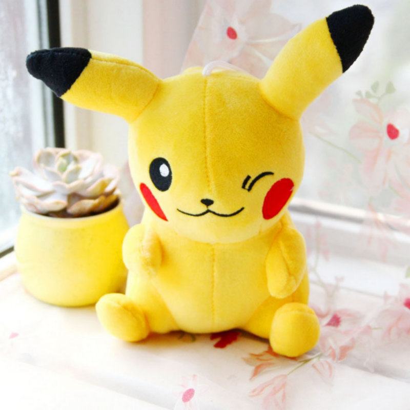 20CM-Pikachu-Bulbasaur-Gengar-Plush-toys-for-children-Gift-Soft-Toy-Kawaii-Cute-Cartoon-Toys-Pocket (1)